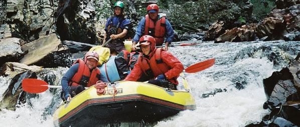 White Water Rafting Tasmania